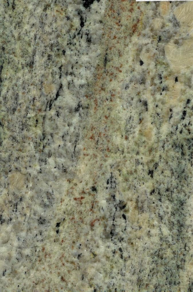 Страна: Бразилия Обработка: Полировка, термо Цена по запросу  Crema Botanic – невероятно самобытный, возможно немного старомодный, но от того ещё более элегантный зеленый гранит из Бразилии. Его невероятная текстура сложно поддается описанию одним словом. Она очень неоднородна и скорей напоминает длинный горный хребет, с его долинами, зелеными полянками, крутыми склонами и горными речушками. Если подумать немного шире, то в этом нет ничего удивительного, ведь как земные плиты в течении миллионов лет создавали горные пояса, так земля сотворила этот камень в своих недрах, благодаря тому же процессу движения земной коры. Действительно впечатляет, заставляет задуматься о вечном. В этом вам поможет Crema Botanic, который в отделке придаст помещению особую вневременную атмосферу.Этот камень, благодаря своим бежевым жилам, отлично смотрится со светлой мебелью и отделкой в качестве столешниц, отделки стен, подоконников и т.п. Любят также использовать данный гранит для создания шикарных классических ванных комнат, поглощающих своей красотой и эксклюзивностью. Он великолепно смотрится с серебренными и золотыми кранами, сантехникой любых цветов и декоративными растениями.Приглянулся этот камень? Обращайтесь к нам, ведь мы являемся производителями камня, т.е сами привозим и обрабатываем твердые породы камня, такие как мрамор, гранит, травертин, доломит, сланец и т.д. Наше производство находится в Москве, в шаговой доступности от нашего выставочного зала, где представлены образцы камней. У нас в работе стоят одни из самых передовых камнеобрабатывающих станков, обладающих впечатляющими возможностями. Мы импортируем камни со всего мира: Италии, Испании, Турции, Бразилии, Индии, Пакистана, Ирана, Норвегии, Армении, Португалии, поэтому имеем возможность предлагать нашим клиентам лучшую цену!Crema Botanic